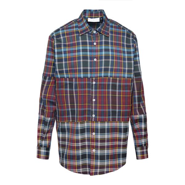 Multicolored checkered shirt                                                                                                                          C.9.3 8074C349 back