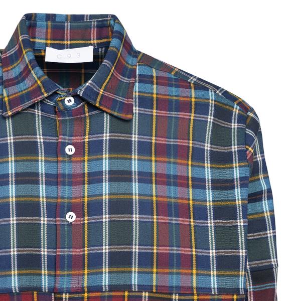Camicia multicolore a scacchi                                                                                                                          C.9.3 C.9.3