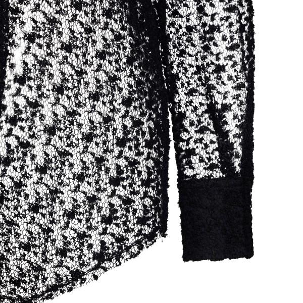 Camicia nera semitrasparente                                                                                                                           FORTE FORTE FORTE FORTE
