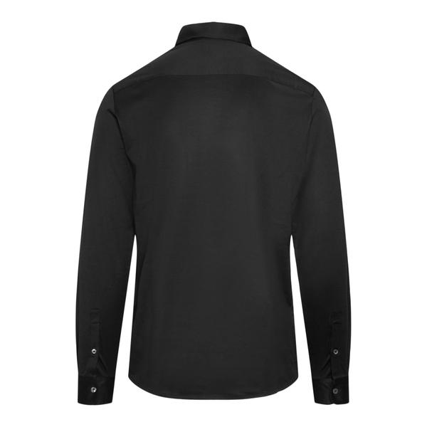 Classic black shirt                                                                                                                                    EMPORIO ARMANI