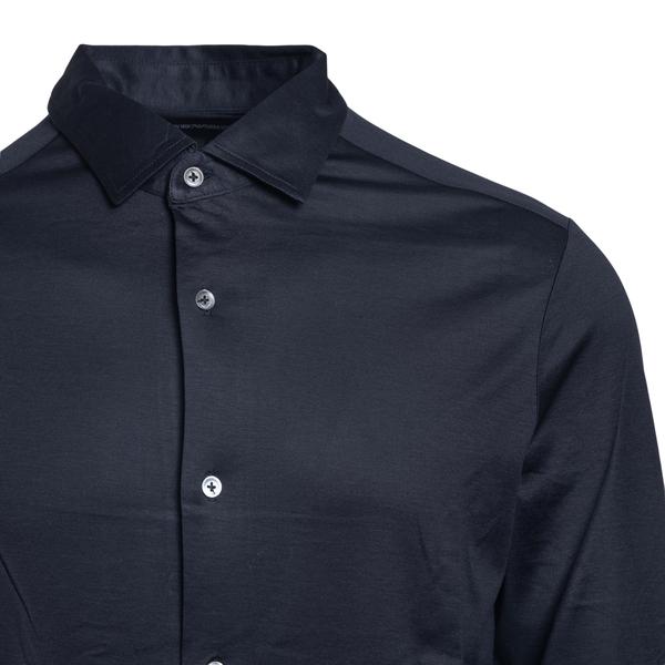 Camicia in blu scuro                                                                                                                                   EMPORIO ARMANI EMPORIO ARMANI