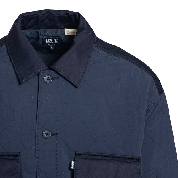 Blue shirt with patch pockets                                                                                                                          LEVI'S