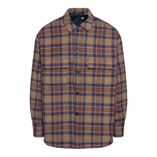 Brown checkered shirt                                                                                                                                 Levi's A0278 back
