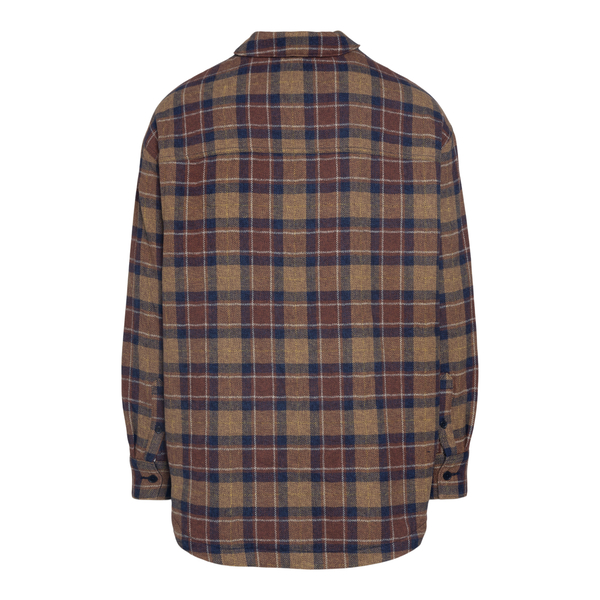 Brown checkered shirt                                                                                                                                  LEVI'S