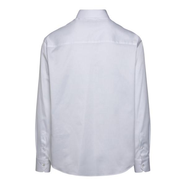 Camicia bianca classica con chiusura nascosta                                                                                                          EMPORIO ARMANI                                     EMPORIO ARMANI