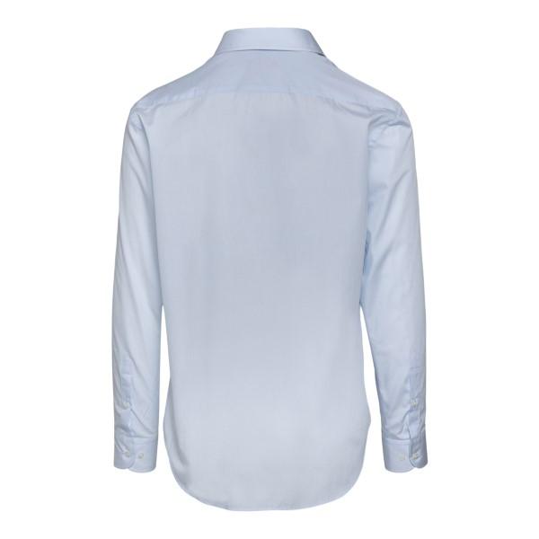 Camicia azzurra classica                                                                                                                               EMPORIO ARMANI                                     EMPORIO ARMANI