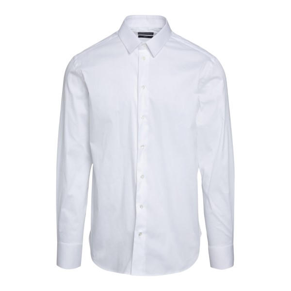 White shirt in classic design                                                                                                                         Emporio Armani A1CSBL back