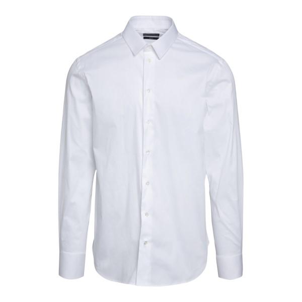 Camicia bianca in design classico                                                                                                                     Emporio Armani A1CSBL retro