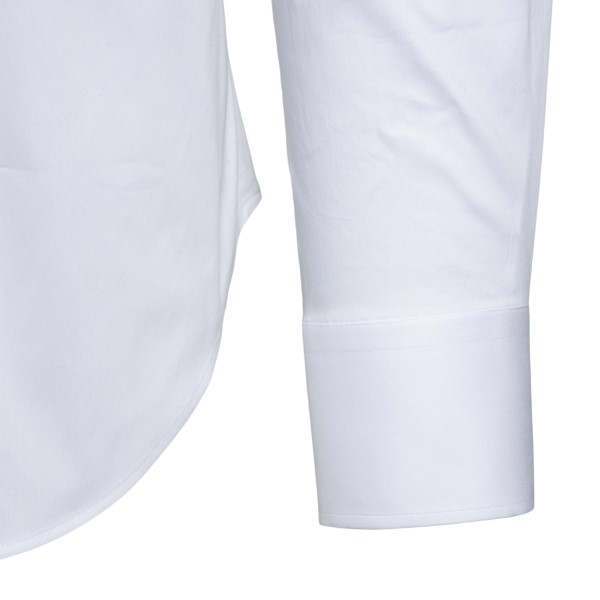 White shirt in classic design                                                                                                                          EMPORIO ARMANI