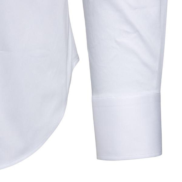 Camicia bianca in design classico                                                                                                                      EMPORIO ARMANI                                     EMPORIO ARMANI