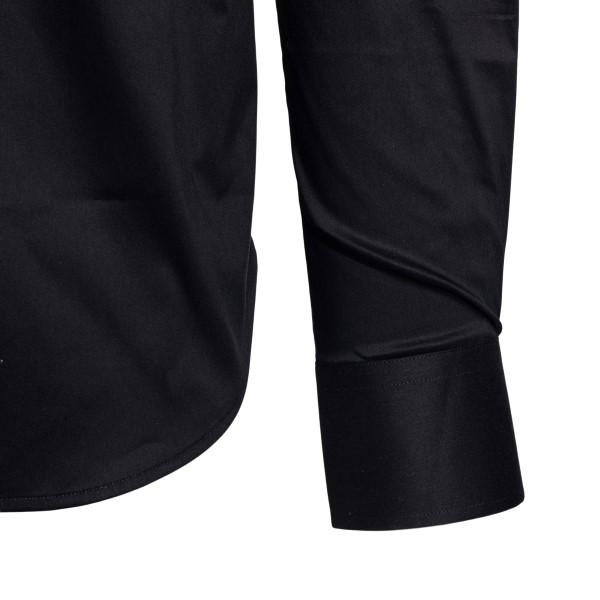 Camicia classica nera                                                                                                                                  EMPORIO ARMANI                                     EMPORIO ARMANI