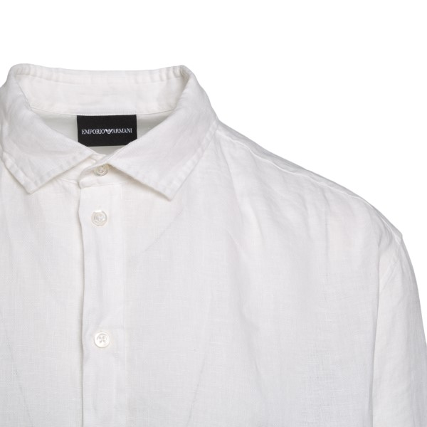 Camicia bianca classica leggera                                                                                                                        EMPORIO ARMANI                                     EMPORIO ARMANI