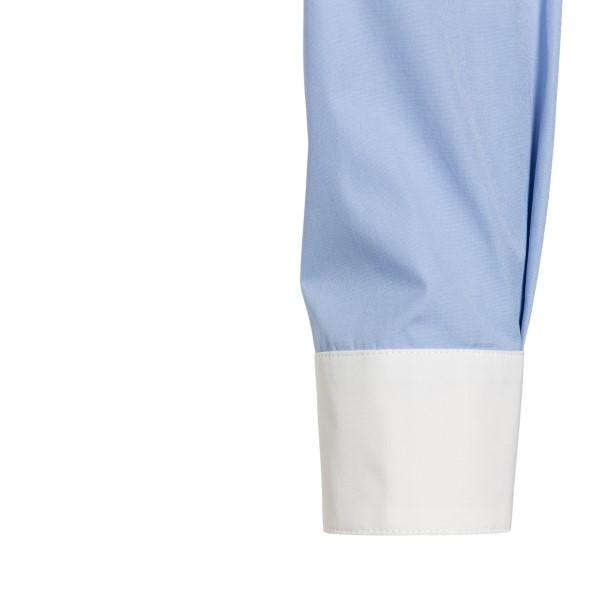 White and blue shirt with starfish                                                                                                                     VERSACE