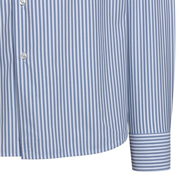 Camicia azzurra a righe                                                                                                                                XACUS XACUS