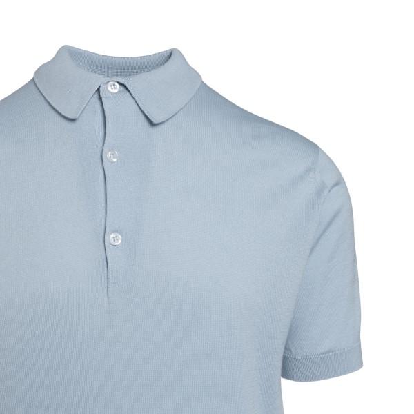 Light blue polo shirt                                                                                                                                  JOHN SMEDLEY