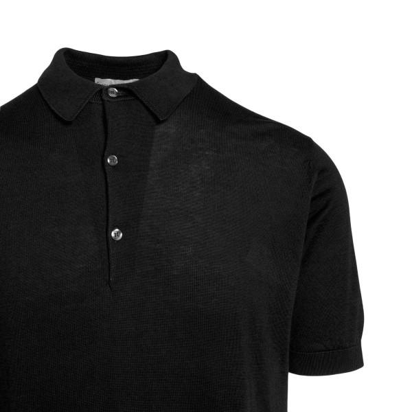 Polo nera in design minimal                                                                                                                            JOHN SMEDLEY                                       JOHN SMEDLEY