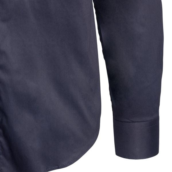 Camicia classica in blu scuro                                                                                                                          EMPORIO ARMANI EMPORIO ARMANI