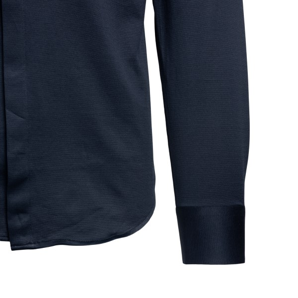 Elegant blue shirt                                                                                                                                     EMPORIO ARMANI
