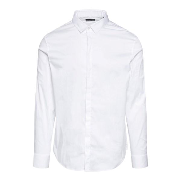 Classic white shirt                                                                                                                                    EMPORIO ARMANI
