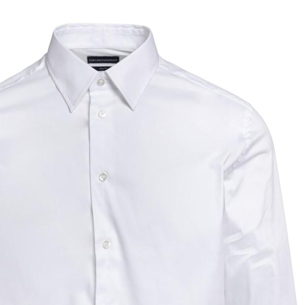 Camicia classica in colore bianco                                                                                                                      EMPORIO ARMANI EMPORIO ARMANI