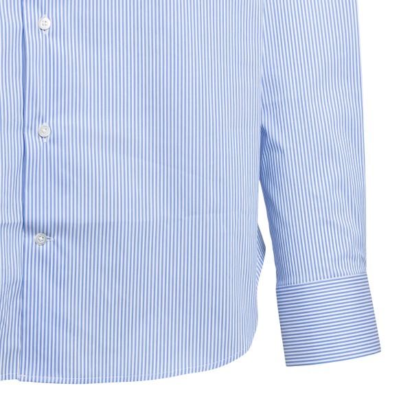 Light blue striped shirt                                                                                                                               EMPORIO ARMANI