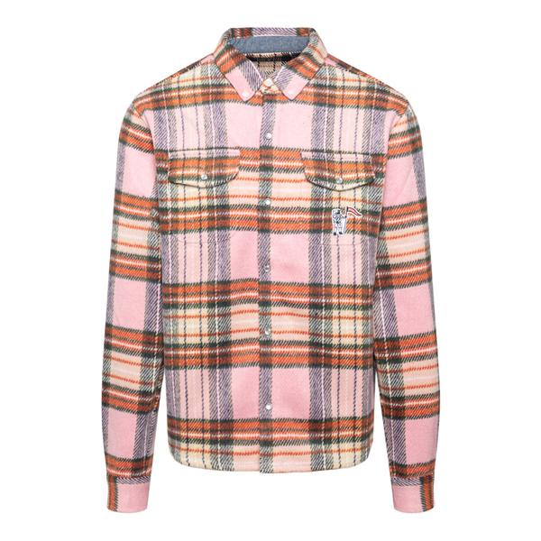 Plaid shirt                                                                                                                                           Billionaire Boys Club B21339 back