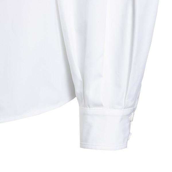 White chain-collar cotton shirt                                                                                                                        GIVENCHY