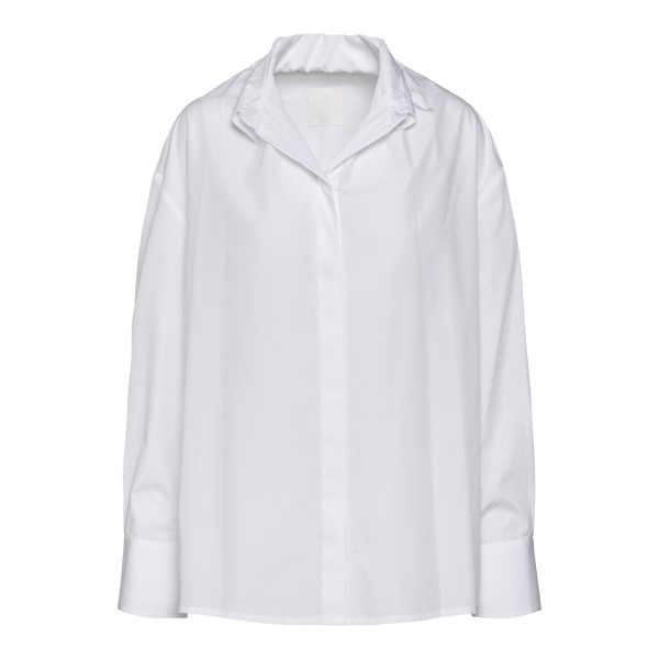 White shirt with wrinkled collar                                                                                                                      Givenchy BW60T4 back