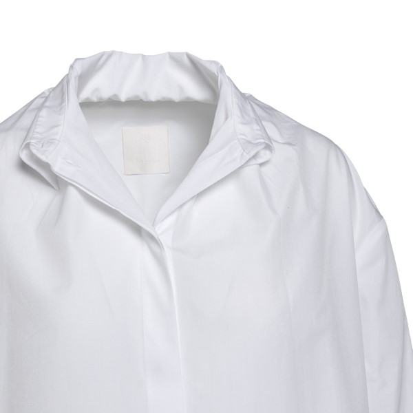 White shirt with wrinkled collar                                                                                                                       GIVENCHY