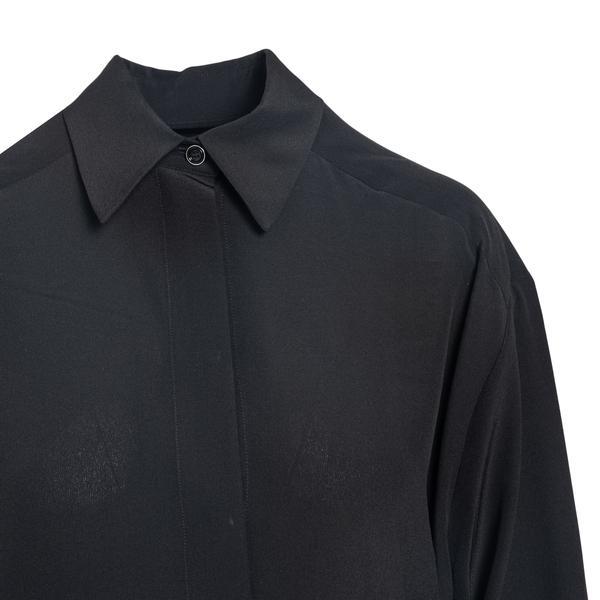 Camicia in seta con foulard                                                                                                                            GIVENCHY GIVENCHY