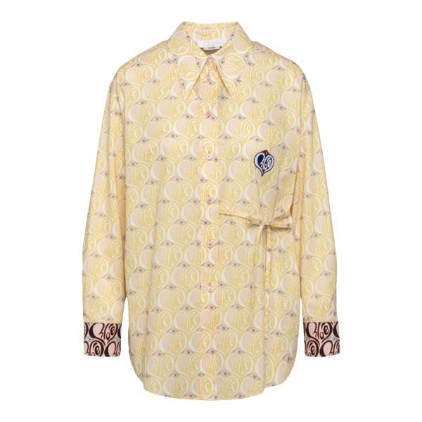 Light yellow patterned shirt                                                                                                                           CHLOE'