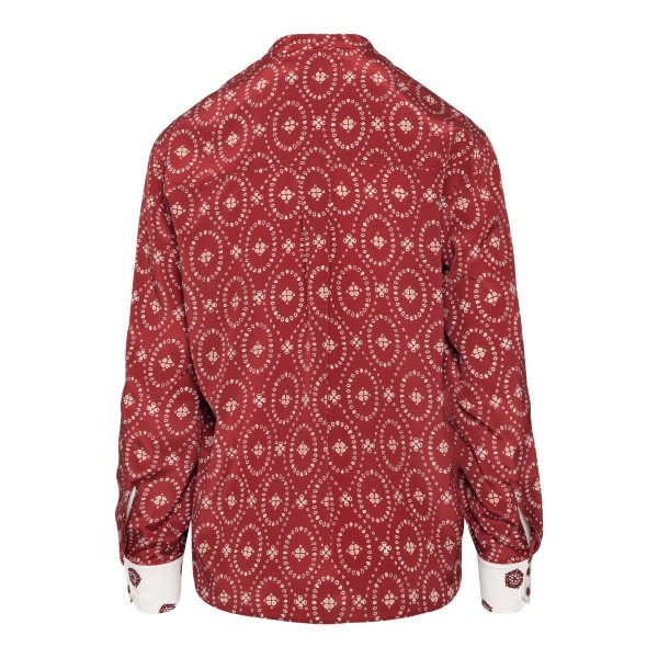Blusa rossa con stampa                                                                                                                                 CHLOE'                                             CHLOE'