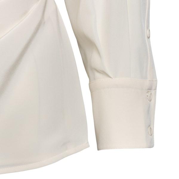Ivory criss-cross shirt                                                                                                                                SPORTMAX