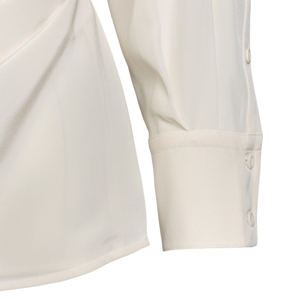 Camicia incrociata avorio                                                                                                                              SPORTMAX                                           SPORTMAX