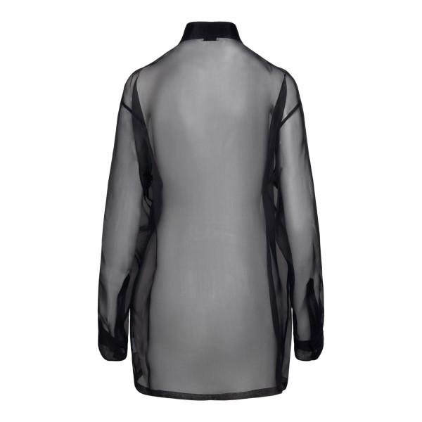 Camicia nera semitrasparente                                                                                                                           DRIES VAN NOTEN                                    DRIES VAN NOTEN
