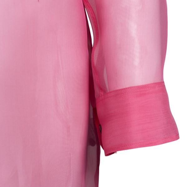 Semi-transparent pink shirt                                                                                                                            DRIES VAN NOTEN