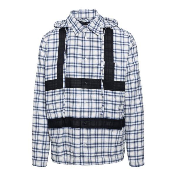 Camicia con cappuccio e dettagli a contrasto                                                                                                          Craig green CGAW20CWOSHI01 fronte