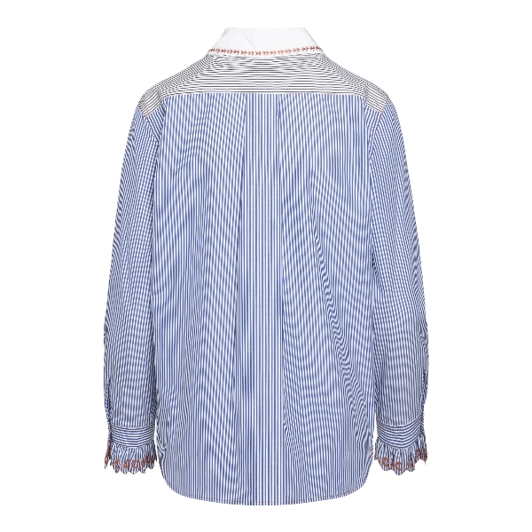 Camicia azzurra a righe                                                                                                                                CHLOE'                                             CHLOE'