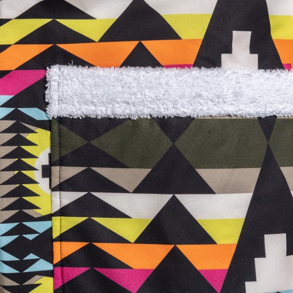 Multicolored shirt with geometric pattern                                                                                                              MARCELO BURLON