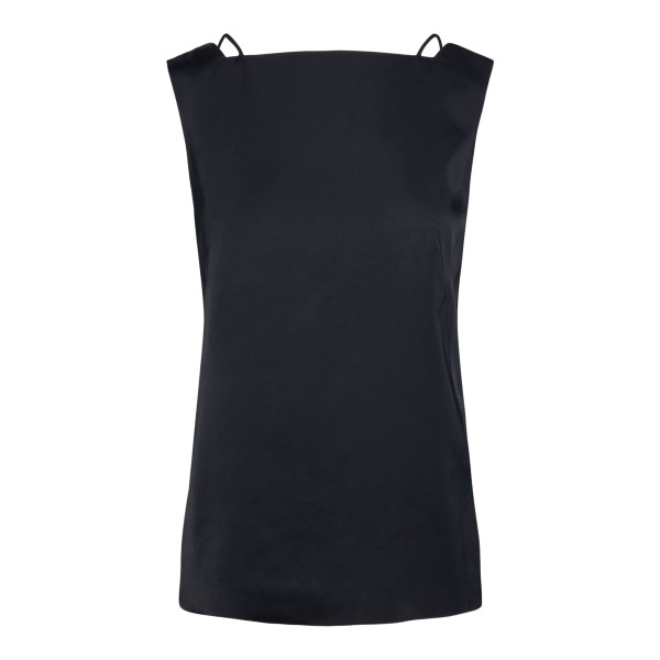 Black top with hollow back                                                                                                                            Dries Van Noten COBSON back