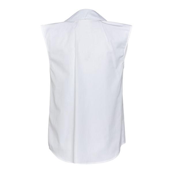 Camicia bianca senza maniche                                                                                                                           SPORTMAX                                           SPORTMAX