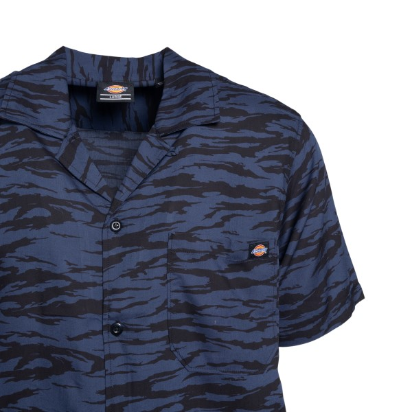 Blue striped short-sleeved shirt                                                                                                                       DICKIES
