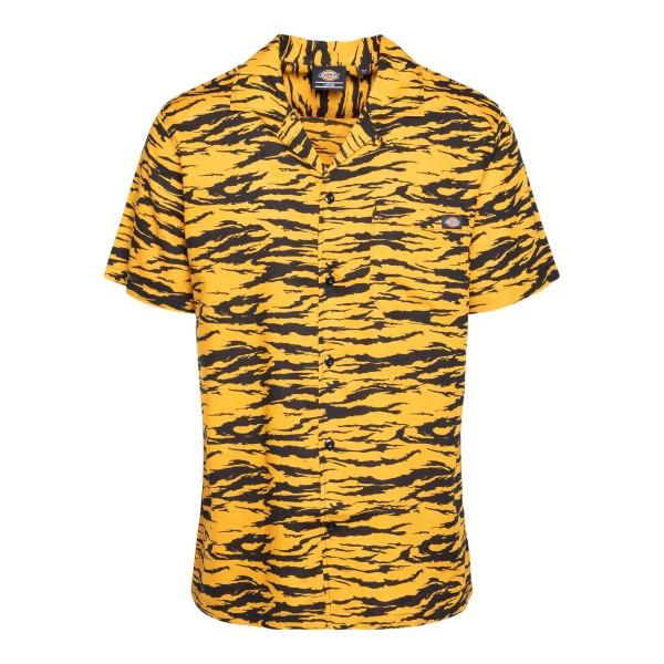 Orange tiger short-sleeved shirt                                                                                                                       DICKIES