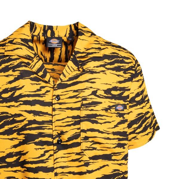 Camicia a maniche corte arancione tigrata                                                                                                              DICKIES                                            DICKIES