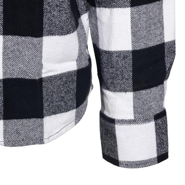 Camicia a quadri bianca e nera                                                                                                                         DICKIES DICKIES