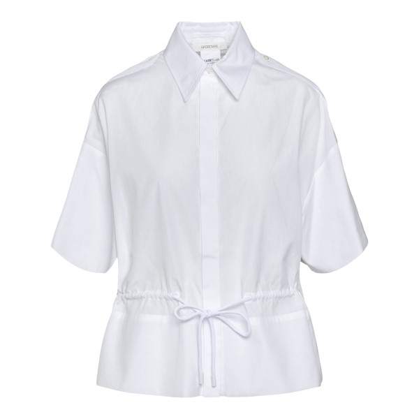 White shirt with ribbon at the waist                                                                                                                  Sportmax ELETTRA back