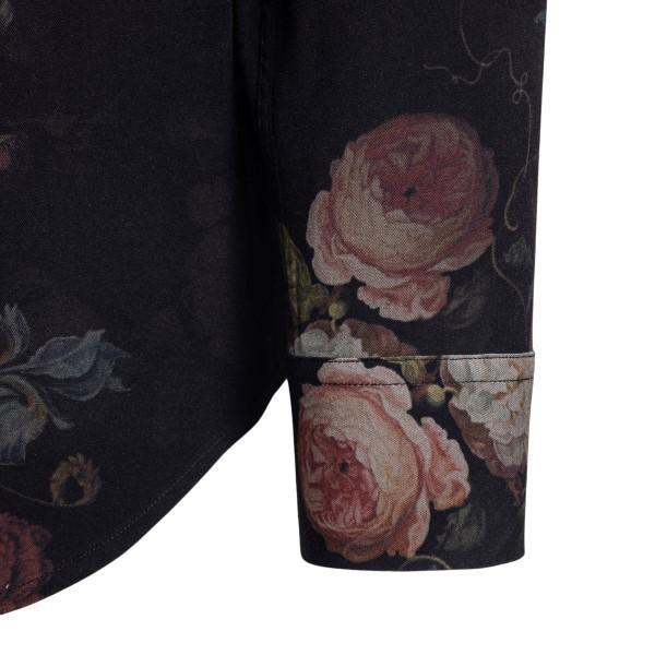 Camicia nera con stampa floreale                                                                                                                       CHOICE                                             CHOICE