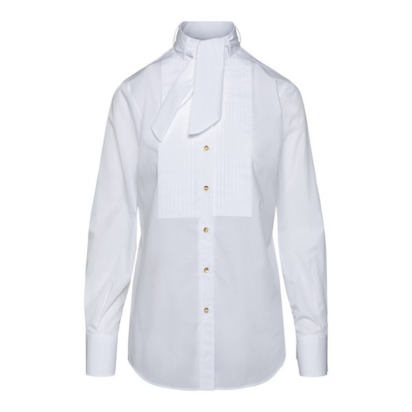 White shirt with bow tie                                                                                                                              Dolce&gabbana F5L75T front