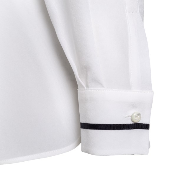 White shirt with contrasting details                                                                                                                   MAX MARA