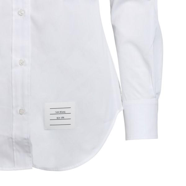 Camicia classica bianca con logo                                                                                                                       THOM BROWNE THOM BROWNE